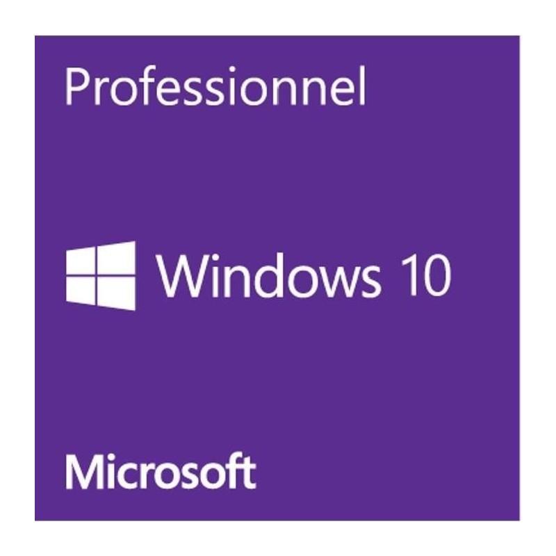 Microsoft Windows 10 Pro Oem Dvd 64bits