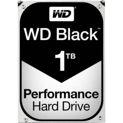 "Disque dur 1T° Sata 3.5"" Black - Performance"
